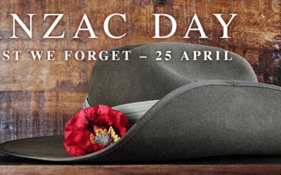 ANZAC DAY 25th April 2019